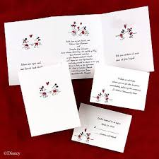 where to get wedding invitations 150 personalized custom mickey and minnie disney wedding