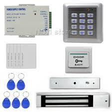 diy waterproof rfid keypad access control security system full kit set 280kg waterproof magnetic lock for house office