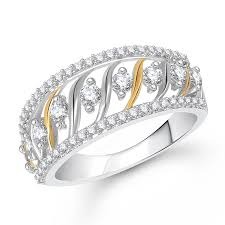 daimond ring buy meenaz ring gifts ring silver fancy party wear