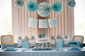 elephant baby shower ideas amazing looked in blue theme with additional hanging with