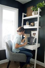 Ladder Office Desk Ideas For Desks In Small Space Saomc Co