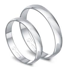 inexpensive wedding bands white gold couples comfort fit inexpensive wedding ring bands for