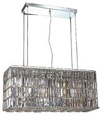 Elegant Lighting Chandelier Elegant Lighting Maxim Hanging Fixture 8 Light Chrome With Royal