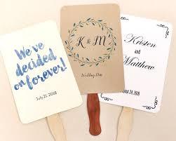 diy wedding program fans kits wedding program fan kit sue s fans