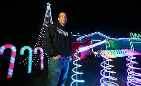 Frozen Christmas Light Show by Newark Home U0027s Lights Decorations Look A Lot Like Christmas U2013 The