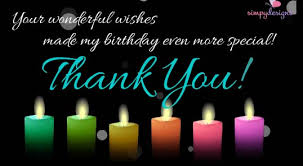 thank you for your birthday wishes free birthday ecards greeting