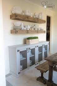 Shantychic Dining Room Floating Shelves By Myneutralnest - Dining room wall shelves