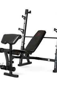 Marcy Diamond Olympic Surge Bench Folding Meditation Bench Black Training Equipment Direct
