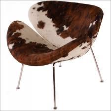 Faux Cowhide Furnitures Ideas Wonderful Faux Cowhide Dining Chairs Cowhide