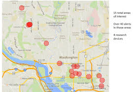 Fake Map Investigator Says He Found Multiple U0027fake Cell Towers U0027 Near White