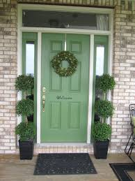 front door garland ideas impressions style front