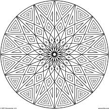 geometric patterns coloring pages difficult geometric design