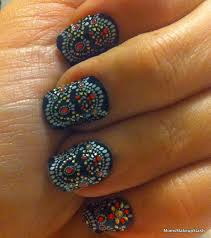 my marchesa moment revlon by marchesa nail art 3d jewel appliqués