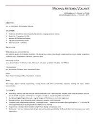 Basic Resumes Samples by Examples Of Resumes 89 Marvellous Resume Writing Job Examples
