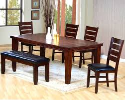 Trestle Style Dining Table Bedroom Cool Big Small Dining Room Sets Bench Seating Style Set