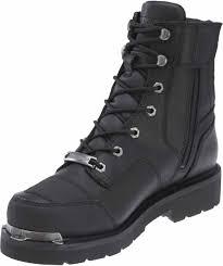 black motorcycle riding boots harley davidson men u0026 039 s lockwood 7 5 inch black motorcycle