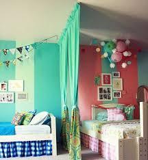 curtains dividing a children u0027s room kids bedrooms pinterest