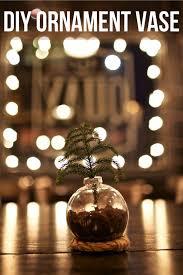 Simple Vase Centerpieces Diy Christmas Ornament Vase Gimme Some Style