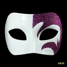 purple masquerade mask mystic purple glitter white venetian masquerade mask mardi