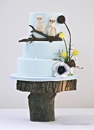 wedding inspiration blue wedding cakes