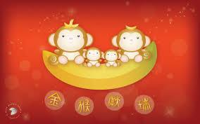 cute pics for background happy lunar new year 2016 of the monkey mint purple studio u0027s blog