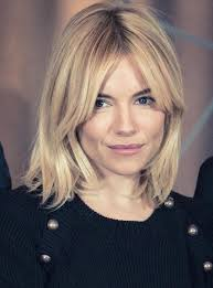 bob haircuts with center part bangs best 25 sienna miller hair ideas on pinterest sienna miller