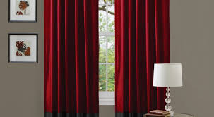 curtains walmart red curtains friendliness really long