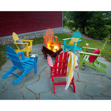 Adirondack Chairs Plastic Furniture South Beach Adirondack Chair In White By Polywood