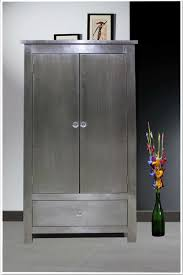 White Wardrobe Cabinet 20 Ideas Of Metal Wardrobe Cabinet