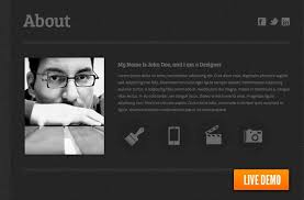 Resume One Page Template 30 Free Html Resume Template Collection Xoothemes