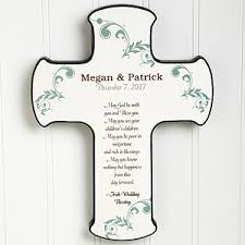 wedding blessing personalized wall cross wedding blessings