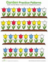 pattern worksheets for preschoolers worksheets
