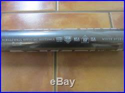demarini steel softball bat demarini new in plastic 30 34 white steel singlewall csix composite