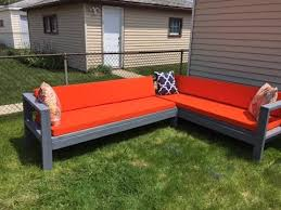 diy outdoor sectional budget friendly 300 youtube