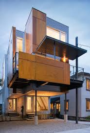 Modern Narrow House A Slice Of European Architecture The Exclusive Mandate Modern