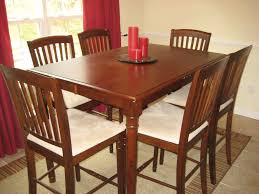 rustic room design with cheap kitchen dinette set on