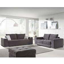 choix canapé ensemble canapé 3 2 places gris en tissu pampelune 12 coloris au