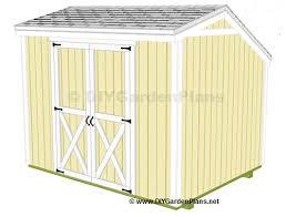 Free Saltbox Wood Shed Plans by 10x8 Saltbox Shed Plans