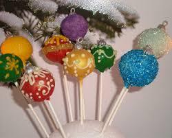 tree ornament cake pops my sweet favorites