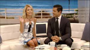 kelly ripa u0027s husband mark consuelos guest co hosts u0027live u0027 as