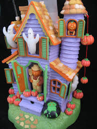 halloween animated witch halloween decors haunted house ghost witch pumpkins bat tropicalfeel