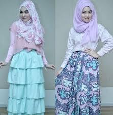 tutorial hijab noura hijab style gaya 4 personel grup vokal noura yang chic dan feminin