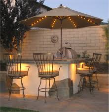 southern patio umbrellas with solar lights patio outdoor decoration
