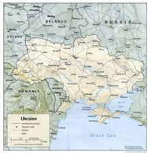 Ana Route Map Ukraine Maps Perry Castañeda Map Collection Ut Library Online