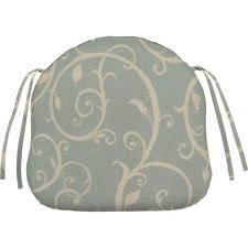 Home Decorators Outdoor Cushions by Sunbrella Mist Contoured Outdoor Seat Cushion Home Decorators