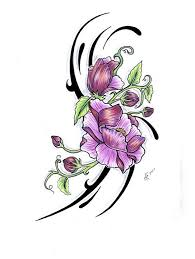 14 best small flower tattoo outline images on pinterest draw