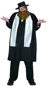 priest halloween costume amazon com jewish rabbi plus size costume clothing