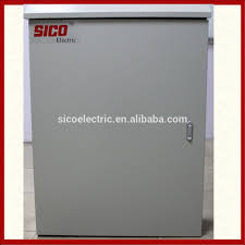 small electrical cabinet metal outdoor distribution board panel