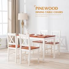 breakfast table with 4 chairs 5 piece pine wood dining table set for 4 chairs breakfast kitchen