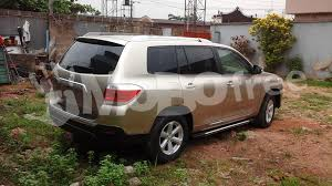 toyota highlander sales tokunbo 2008 packaged 2013 toyota highlander cars